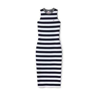 Women's Lacoste LIVE Striped Cotton Tube Dress