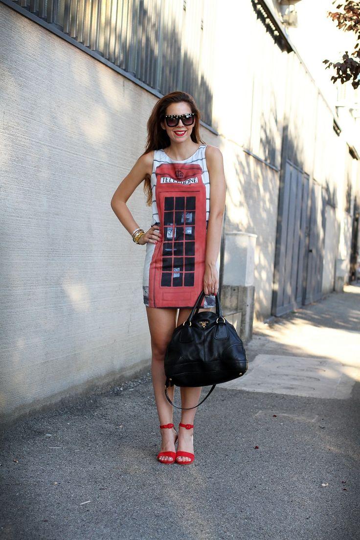 fashion #fashionista @Irene Hoffman Colzi vestito con cabina ...