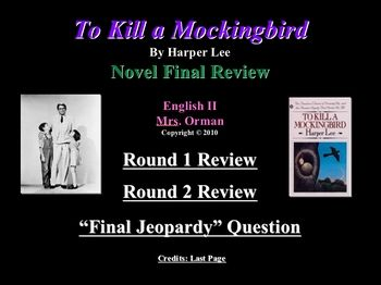 to kill a mocking bird review To kill a mockingbird is set in the rural alabama town of maycomb the story's  narrator is a young girl nicknamed scout who is just beginning school scout has .