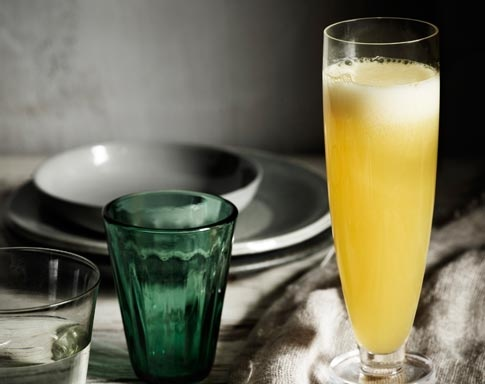 This Mango Bellini is heavenly! You can find the recipe by Tobie Puttock on the Australian Mangoes website - http://www.mangoes.net.au/enjoy/tobieputtock.aspx