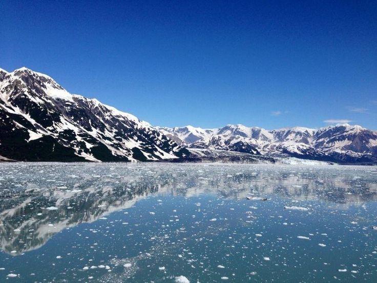 En route to Hubbard Glacier, Alaska. USA