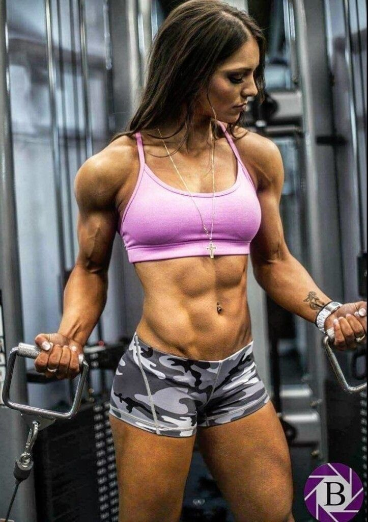 Ripped Girls  Ripped Girls, Fitness Models, Muscle Women-6718