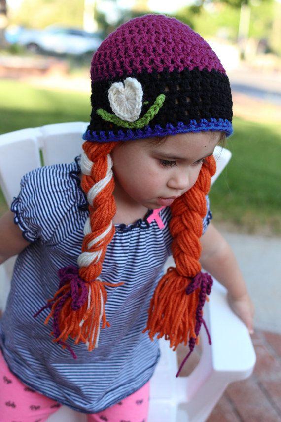 124 besten Girls crochet hats Bilder auf Pinterest | Hut häkeln ...