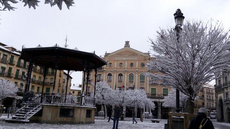 Veremos Segovia nevada dentro de poco?