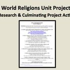 Ap world religions project