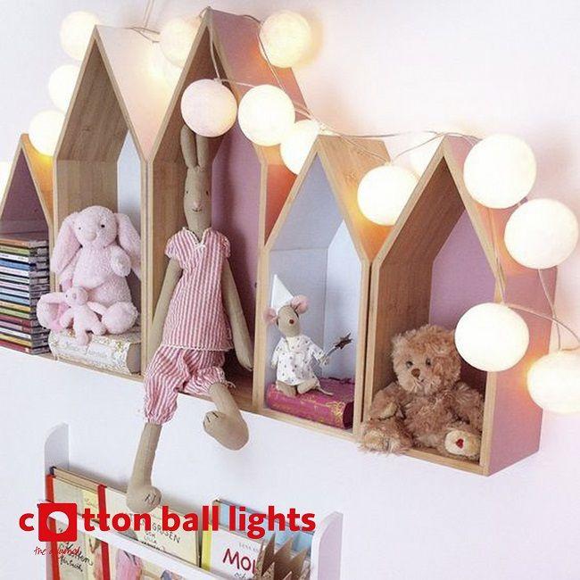 COTTON BALL LIGHTS WIT