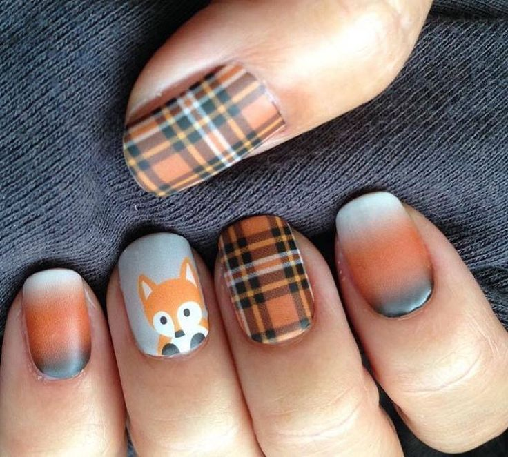 Gorgeous Autumn Inspired Nails: Best 25+ Fall Nail Art Ideas On Pinterest