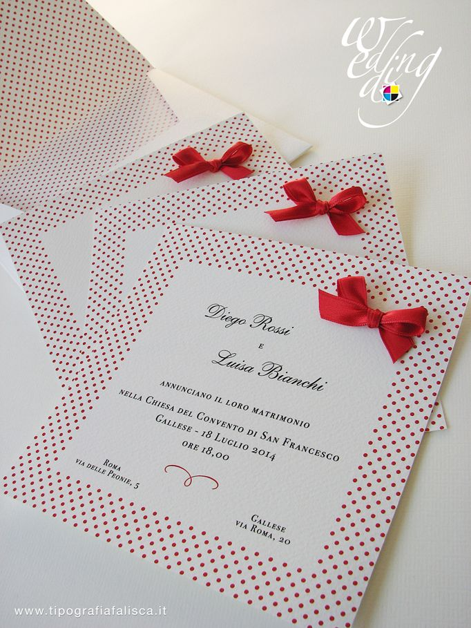 Partecipazione completa di busta personalizzata