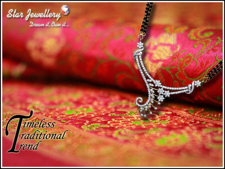 #‎Diamond‬ ‪#‎Mangalsutra‬ ‪#‎Timeless‬ ‪#‎Traditional‬ ‪#‎Trend‬