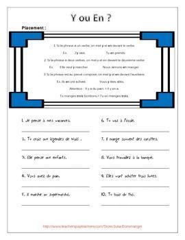 Y ou En? - 2 worksheets FREE