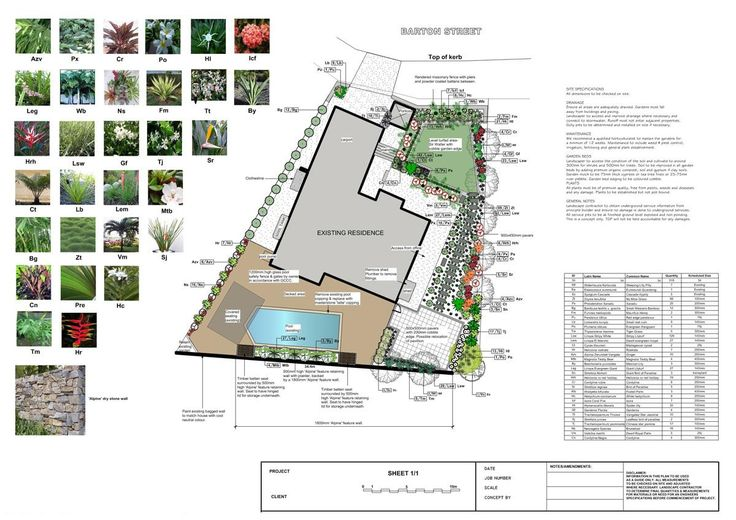 Best 25 landscape design plans ideas on pinterest for Sample landscape plan