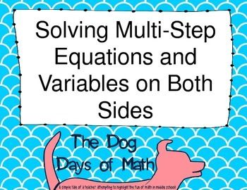 FREE! This product contains TWO scavenger hunts to help students practice the solving equations that include variables on both sides, distributive property, or combining like terms. This is perfect for 8th grade math, pre-algebra or Algebra I. The two scavenger hunt are differ in ability level to help with differentiation in the classroom or to provide the similar activities to regular and advanced classes.