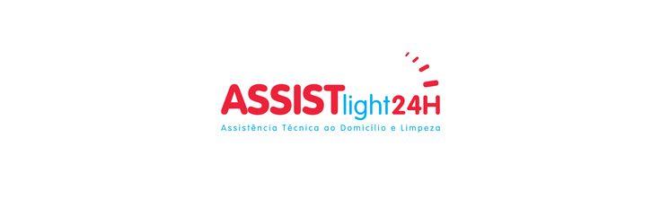Criação de marca para empresa prestadora de serviços de Manutenção e Limpezas ao Domicílio 24 horas ASSISTlight24H . Lisboa - Portugal (2017) Partilhar var...
