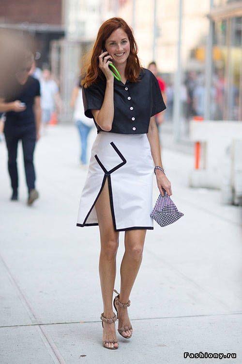 Тэйлор Томаси, white skirt, street style