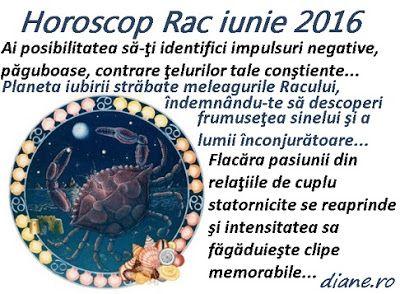 diane.ro: Horoscop Rac iunie 2016