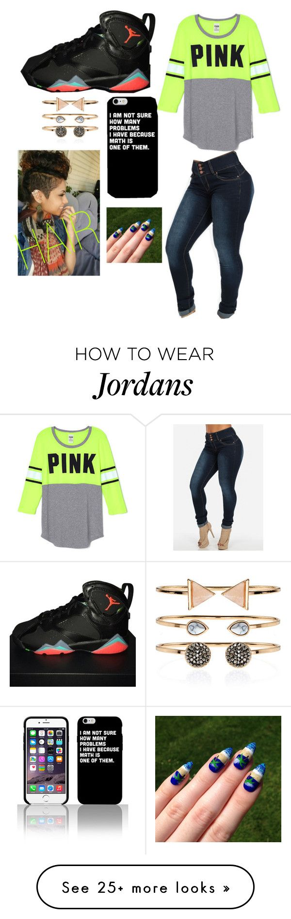 """Untitled #1491"" by lylydenisegaston on Polyvore featuring NIKE and Accessorize"