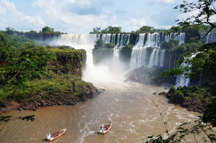 Iguazú National Park, Argentinian Side jigsaw puzzle in Waterfalls puzzles on TheJigsawPuzzles.com