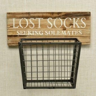 Lost Socks Basket | Pineapple House