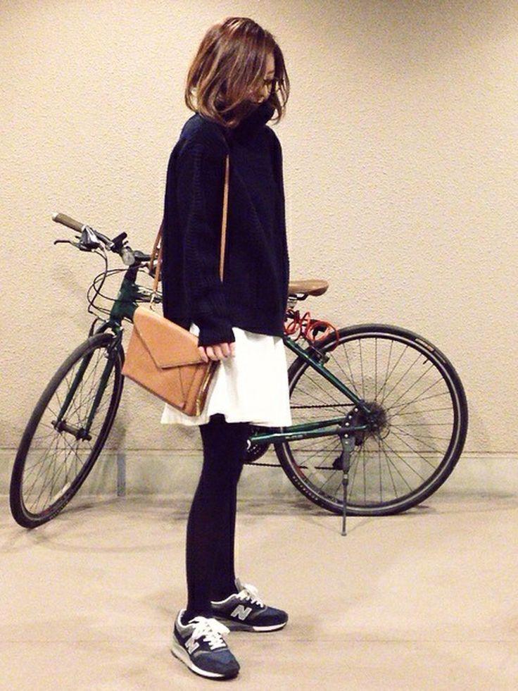 mayumiさんのニット/セーター「Deuxieme Classe ◆ケーブルKNIT」を使ったコーディネート