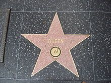 Queen's star on the Hollywood Walk of Fame, located at 6358 Hollywood Blvd.
