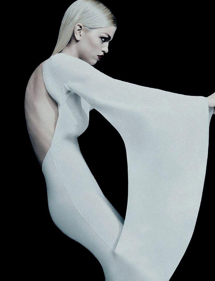 pradaphne:    Daphne Groeneveld photographed by Sebastian Kim for Numéro Russia April 2013.