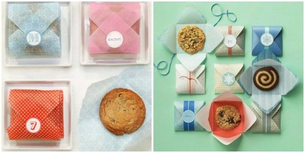 Martha Paper Cookie Envelopes