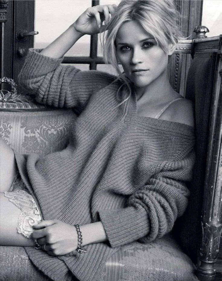 Sexy is feeling comfortable and content in a big slouchy sweater..