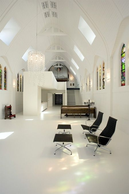 From Church To Modern House