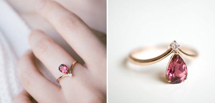 As melhores fotos de anéis de noivado do Pinterest - eNoivado