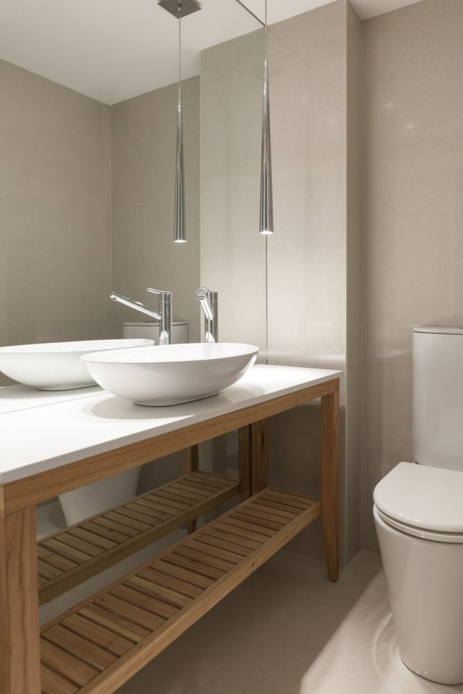 Toilette Vanitory De Madera Atena Building Amenities By
