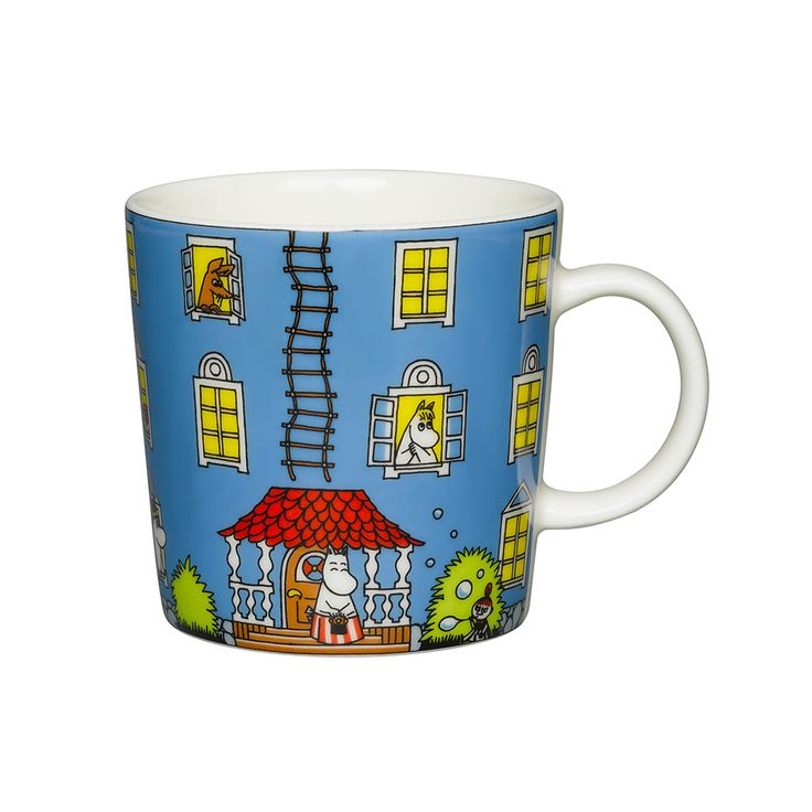 Moomin Mug Moomin House 30cl, 43
