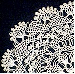 Example of Armenian needle lace