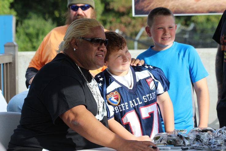 Rikishi at Dutchess Stadium for Wrestling Under the Stars II.