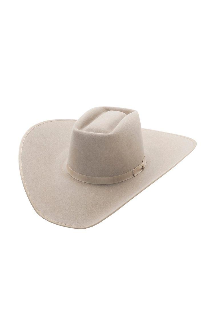 Rodeo King® 10X Brick Ash Bound Edge Felt Cowboy Hat- BRK10AS475