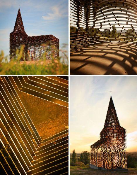 See-through Church by Gijs Van Vaerenbergh, Belgium
