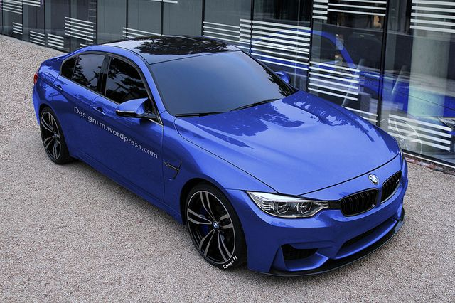 2014 BMW M3 Sedan F30 - by Design.Rm. Holy crap, I might be ready to trade the e90...