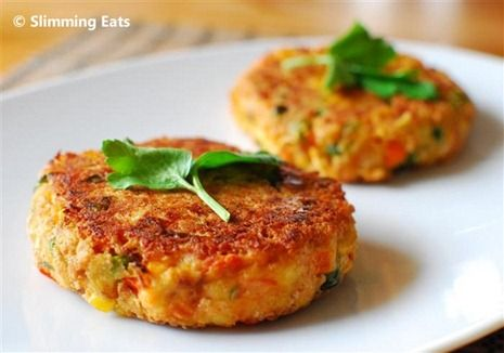 Vegetable And Cheddar Patties Recipe Vegetables