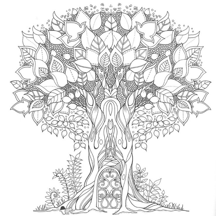 Enchanted Forest Colouring Book By Johanna Basford P2479