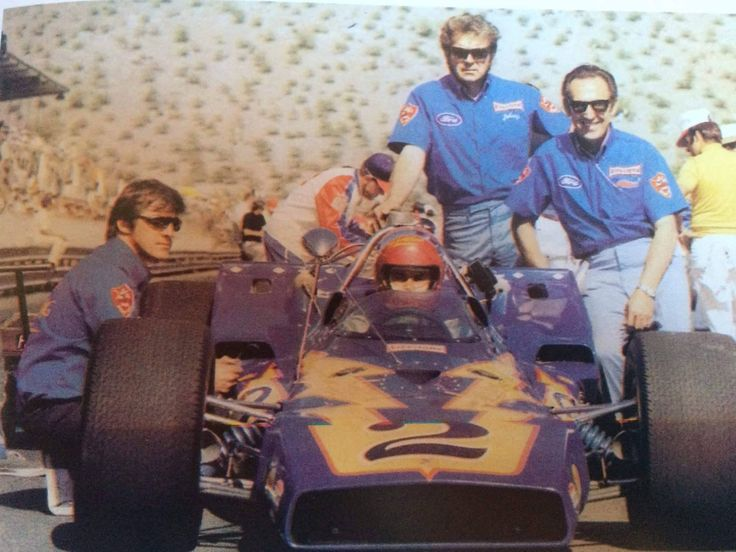 Al Unser and the Johnny Lightning Special's first ever race @ Phoenix 1970