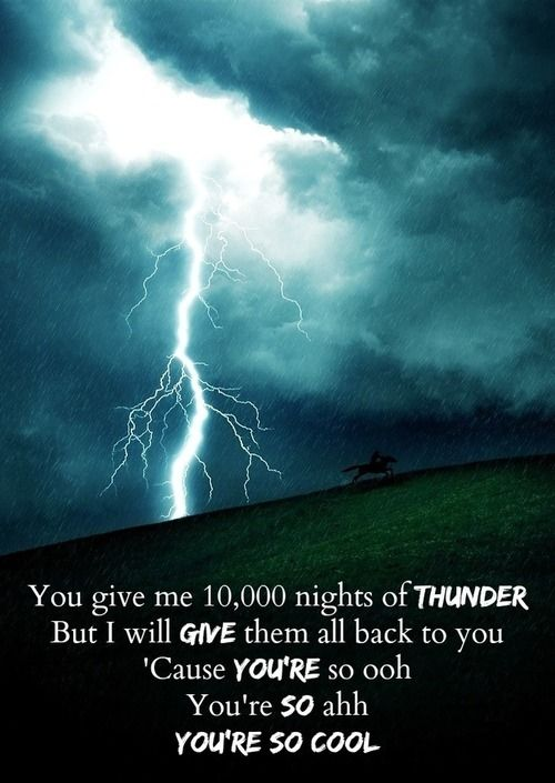 You give me 10000 nights of thunder quotes music quote song lyrics lyrics songs instagram instagram quotes nights of thunder alphabeat
