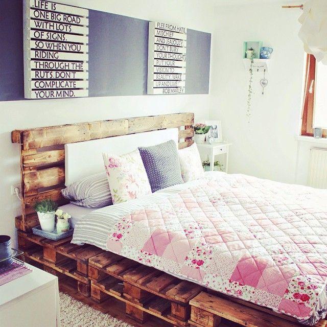 17 mejores ideas sobre camas de tarima en pinterest cama for Cabeceras de cama con tarimas