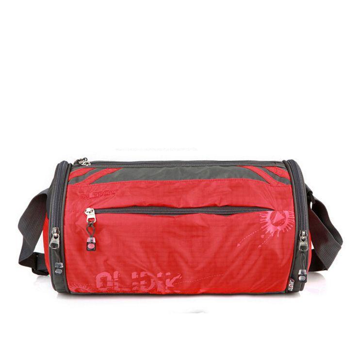 Portable Men Women Versatile Soft Fashion Zipper Patchwork Travel bag Duffle Five color water resistant bag 8008
