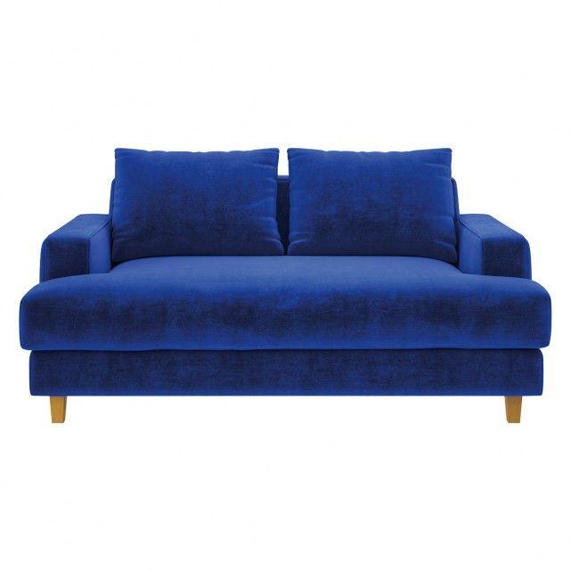 Wiltons Cobalt Blue Velvet 2 Seater Cobalt Blue Blue Furniture Blue Velvet