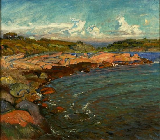 Särö, 1902 By Thorolf Holmboe