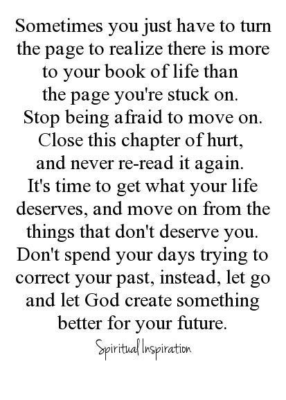 Never.  I have lost. I will Never turn the page or accept this ....so glad you found your peace....but be real.  If you truly lost your soul. You would not be so acceptable of a tragedy..good luck to you and your denial