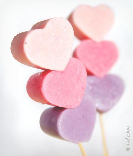 Gefrorene Joghurt-Herzen am Spieß - kullaloo – Kreatives für Kinder