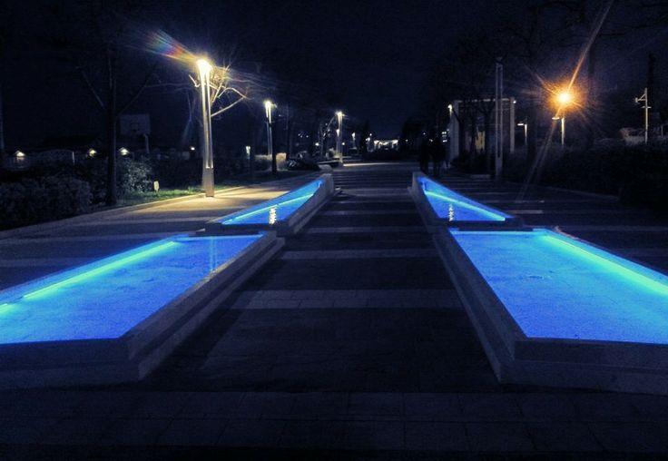#lungomare #riccione #fontana
