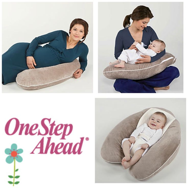 Multi-Relax 3-In-1 Pillow: One pillow that works like three! First, it's a pregnancy pillow that supports your tummy. Then, it's the perfect feeding and nursing pillow. Finally, it's a secure prop pillow for baby! This workhorse cushion supports Mommy's tummy, wraps around your waist for feedings, and has a soft, snap-on harness that keeps baby safely, comfortably propped (for 7-20 lbs.)...