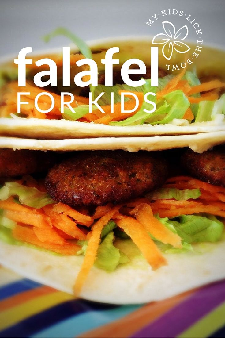 Falafel for kids. Easy, Economical and Delicious