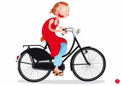 All dutch people ride bicycles. Because it is safe on the road, it is cheap, healty, and there are almost no hils in the entire country, so it is easy to cycle. I used to cycle to school everyday, but since I have the OV card, and my cycle is stolen, I don't cycle that much anymore (Joelle)